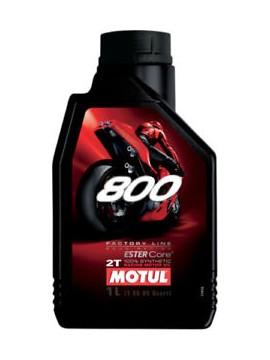 Alyva MOTUL 800 2T FACTORY LINE ROAD RACING 1L.